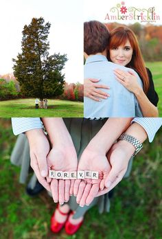 """""""Forever"""" . . . perfect for an engagement photo shoot"""