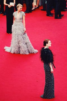Naomi Watts and Julianne Moore on the Cannes 2015 red carpet.