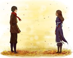 (Don't ship it but I like this drawing) Autumn by Nymre.deviantart.com on @deviantART