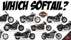 The Harley-Davidson Softail - Which One?! Harley Davidson Pictures, Harley Davidson Street Glide, Harley Davidson Dyna, Harley Davidson Motorcycles, Ape Hangers, Street Bob, Road King, Bobber, Youtube