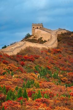Great Wall of China in Autumn. | Stunning Places #Places