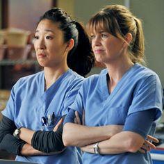 Sandra Oh, Ellen Pompeo, Greys Anatomy