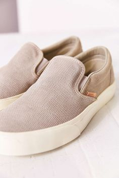 Vans Classic Knit Suede Slip-On Women's Sneaker