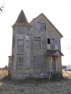 Abandoned house in Watertown, NY