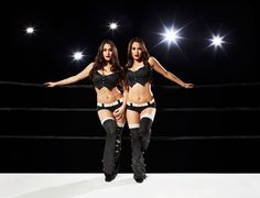 WWE Bella Twins Show SELF Their Master-Class Moves: Cause these divas have killer bods. #SelfMagazine