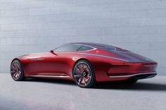 Mercedes-Benz brought the spectacular Vision Mercedes-Maybach 6 concept car to last month's Pebble Beach Concours d'Elegance, indicating it may at some point revive the now [. Mercedes Benz Maybach, Maybach Coupe, New Mercedes, Mercedes Concept, Lamborghini Concept, Aston Martin, Audi, Automobile, Daimler Ag