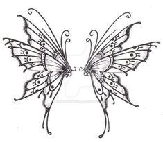 Butterfly wings by crazyeyedbuffalo on DeviantArt