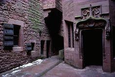 Cour intérieure du chateau du Haut Koenigsbourg