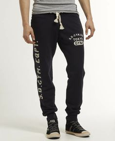 Superdry Pantalón de jogging Pommel - Pantalones de chándal para Hombre  Pantalon Jogger 30f11e203f56