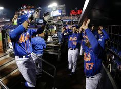 Curtis Granderson and the Mets///WS Game 5 v KC, Nov 1, 2015