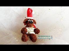 Adorno navideño reciclando cáscara de nuez - YouTube
