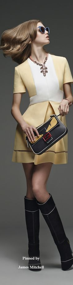 9d5c86241377 Осень-зима 2015 2016 · Fendi Collection Pre-Fall 2015 Линдси Виксон, Фенди,  Модный Показ, Модные Тенденции