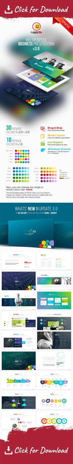 Ever - Multipurpose Presentation Keynote Template Creative - animated power point template