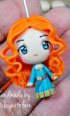 Polymer clay Merida by fern
