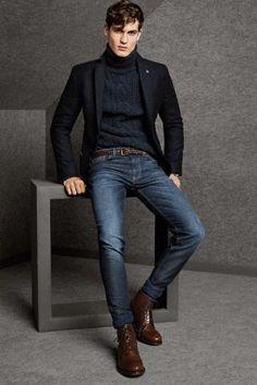 Es válido usar #Saco sobre el #suéter ¡Ideal para el #frío!