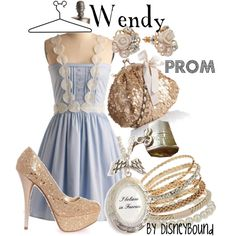 Wendy Darling. :) this whole outfit is precious!