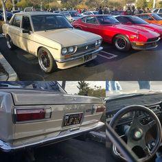 Clean Datsun 510 next to my Z #Datsun #datsun510 #510 #DatsunBluebird #jdm #240z #datsun240z #zcar