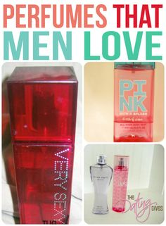 A list of our husbands' absolute FAVORITE perfumes.  The ones that we don't put on unless we want them to attack us.  *wink*   www.TheDatingDivas.com #perfumes #forhim #datingdivas