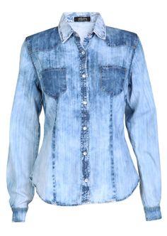 jean shirt for women | Ban Denim Shirt, Women, Shirts, AllSaints ...