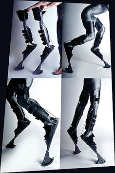 Digitigrade stilts