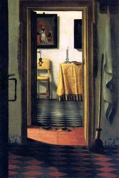 """14 февраля. """"The slippers Sun"""" Samuel Dirksz van Hoogstraten (2 August 1627 - 19 October 1678) was a Dutch painter of the Golden Age, who was also a poet and author on art theory. Samuel Dirksz van Hoogstraten was born and died in Dordrecht. He was first a pupil of his father Dirk van Hoogstraten, living at Dordrecht until about 1640. On the death of his father, he changed his residence to Amsterdam and entered the school of Rembrandt."""