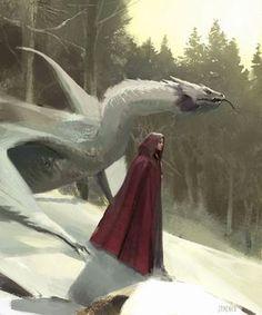 Manon and Abraxos [John Park Dragon Girl Concept Art Illustration] Fantasy Magic, Fantasy Dragon, Fantasy World, Fantasy Inspiration, Character Inspiration, Character Art, Character Concept, Fantasy Kunst, Fantasy Art