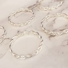SAMPLE SALE - Twist Midi Ring - Sterling Silver