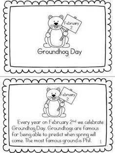 Groovy Groundhogs: Learning about Groundhog Day and Groundhogs: Grades 1-2