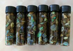 Opal chip jars