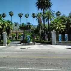 The front gates to my beautiful high school ...Villa Cabrini Academy now known as Woodbury University in Burbank CA