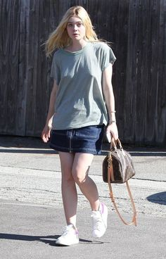 Elle Fanning Photos - 'Maleficent' star Elle Fanning stops by a hair salon in Beverly Hills, California on August 24, 2015. Elle's 'About Ray' director Gaby Dellal recently explained to Refinery29 why he cast her in the movie. 'I could not have chosen a more blonde, more feminine actress who had a big a mountain to climb. And that's what I'm interested in. She's just a girl who is being herself and is chasing the opportunity to start hormone treatment. So to actually use a trans boy was not…
