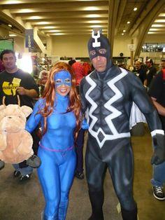 Black Bolt and Medusa.