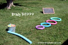 Water Balloon Target Practice Game #OutdoorGames #Games #PartyGames #WaterBalloons