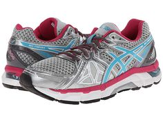 ASICS GEL-Fortify® Lightning/Turquoise/Cabernet - Zappos.com Free Shipping BOTH Ways
