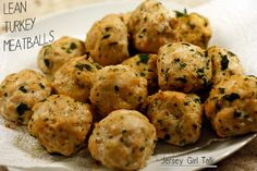 High Protein Lean Turkey Meatball Recipe for Meal Prepping
