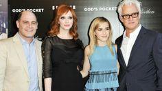 John Slattery, Christina Hendricks Remember Philip Seymour Hoffman at 'God's Pocket' Premiere