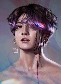 chim 🐥 on Fan Art, Jungkook Fanart, Pictures, Art