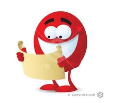 Red Guy With Map