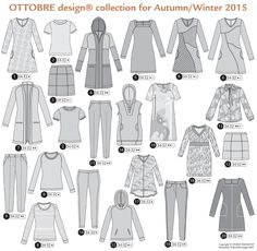 SewBaby News: Ottobre Woman Fall Winter 2015 Issue