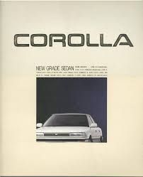 Image result for brochure corolla ae92