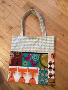 Tote Bag - Just love this fabric