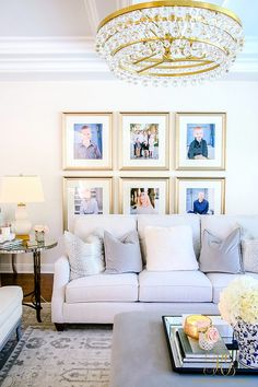 How to Create a Livable + Beautiful Family Room lighting with personality and durable fabrics on furniture - Randi Garrett Design