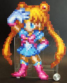 CSW Sailor Moon perler beads by KokanutPixels on deviantART