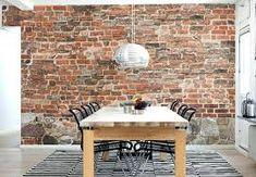 Image result for fake bricks wallpaper