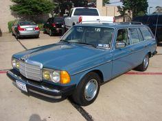 My retro dream mom car...1985 mercedes station wagon