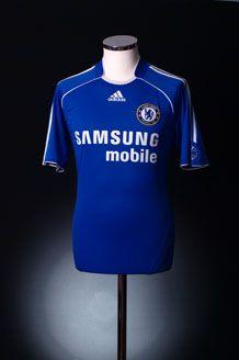f3b66e687 Chelsea Home Kit 2006-08 Chelsea Fc Team