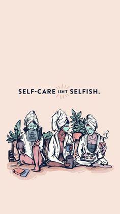 Remember: self care isn't selfish. Self-care is self love. It's self healing. It… Remember: self care isn't selfish. Self-care is self love. It's self healing. It…,_Reminder_ Remember: self care isn't selfish. Self-care is self. Motivational Quotes, Inspirational Quotes, Quotes Positive, Motivational Affirmations, Positive Art, Self Love Affirmations, Positive Mindset, Self Healing, Statements