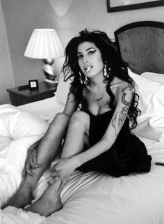 Amy Winehouse, before she threw away the tremendous gift she had!
