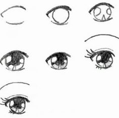anime how to draw step by step - Google Search