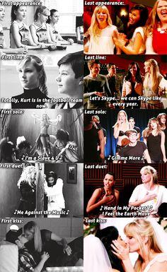 Brittany S. Pierce. She did Britney Spears covers so well. I love that her first and last duet was with Santana.